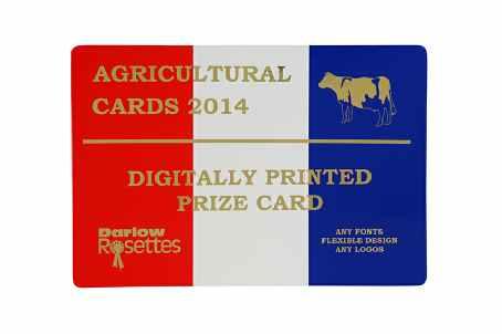 Prize Card
