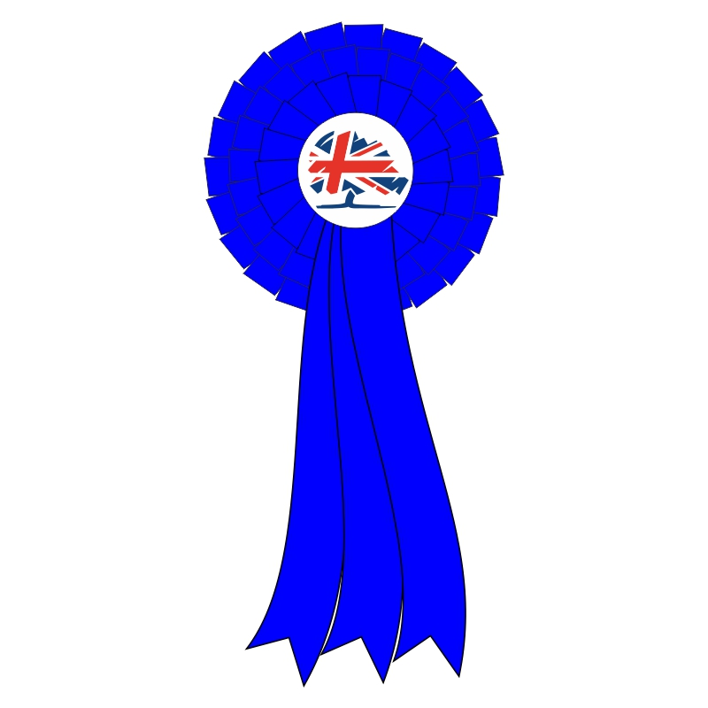 Conservative 3 Tier Darlow Rosettes