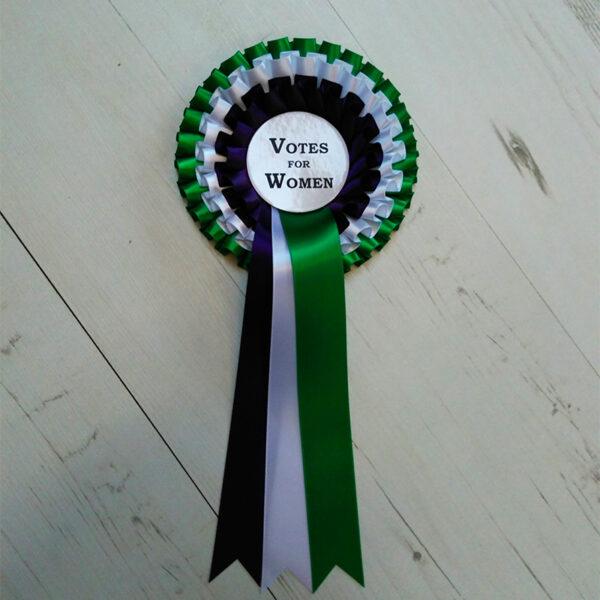 Vote for Women rosette