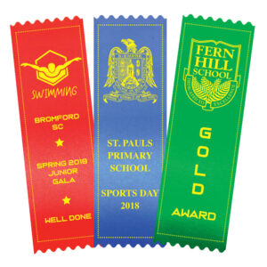 printed award ribbons
